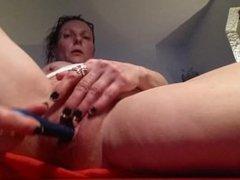 My dildo Fucking my Pussy