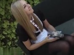 Cheated on CHEAT-MEET.COM - German blond teen in anal creampie