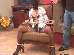 Tied in a Chair and Hooded