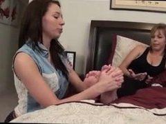 Daughter's Tickle Studies