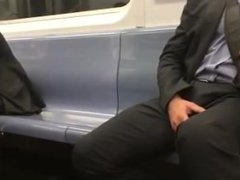 A Guy and his Boner on the Train