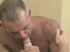 Daddy Fucks Tatted Twink