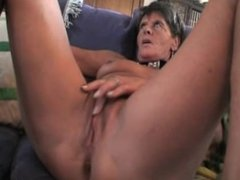 Hot old with young orgy action