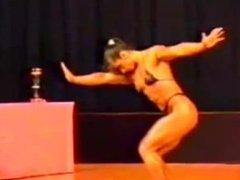 Massive Female Muscle Female Bodybuilder RIPPED