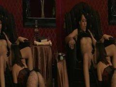 Kristina And Kourtney Lesbian Pussy Licking 1