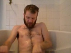 Bearded Guy Morning Piss