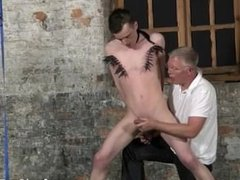 Gay sex movies with screaming With his gentle testicles tugged and his