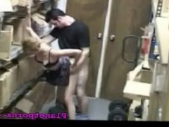 Sex at work Caught on Camera
