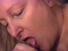 from sexdatemilf.com CJ the BBW Milf sucking my cock