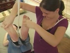 Edda's Feet Tied Up And Tickled