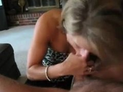 Mature blonde milf blowjob. Hallie from dates25.com