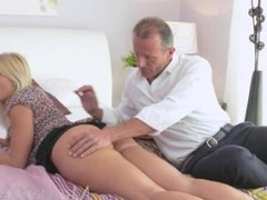 MOM Beautiful blonde Milf has her perfect tanned body fucked hard