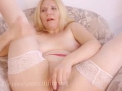 Creamy Gushing Pussy - Loud Moaning Orgasm - Homemade