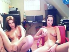 Hungarian Girl with Naked Best Friend