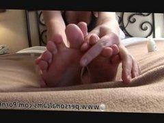 Teen has great feet part 2