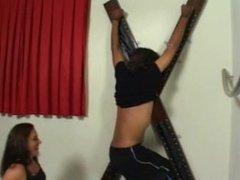 Evil Monaliza Tickles Man's Armpits & Nipples (part4)BRAZILIAN TICKLER!!