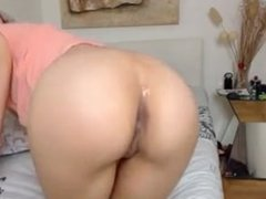 Webcam anal toying