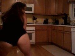 Dancing a little