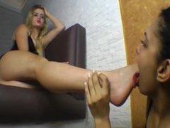 Brazil Britney BIG feet worship