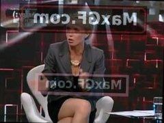 Jelena Helc sexy crossed legs 301012
