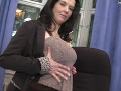 Brandee from dates25.com - Mom next door with big tits and hu