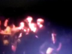 BIG BURLY MEN DOMINATE SISSY BOY GERM AT xLANDFILLx SHOW