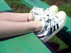 Shoeplay in Adidas Superstar