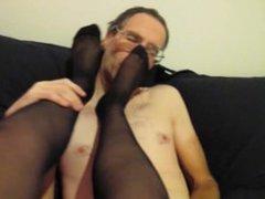 Dirty Talking Stocking Slut Escort Feet Licked