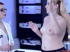 sexbot has threesome with her doctor and another sexbot