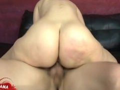 Busty cowgirl best cock sucking