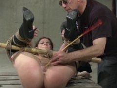 Nasty slut gets slum by an old guy