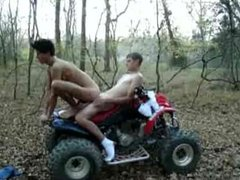 Outdoor Fuck on a Four Wheeler
