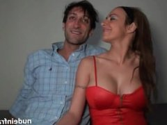 Big Boobed French Slut Fucked Hard By Her Bf - HD