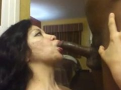 Latina milf from Sexdatemilf.com drains black dick fully