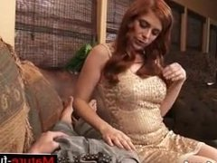 Find her on W1LD4U.COM - Chesty redhead housewife Penny Pax take cock