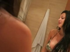 This is vacation video Big breasted Aletta Ocean