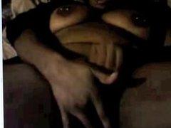 Ebony bbw on webcam. Ghislaine from dates25.com