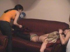 Senka bikini tickling 2 on 1