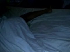Sleepy bare leg & sole