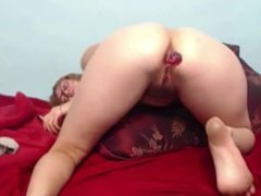 Doll next door Presley Lane first time butt playing