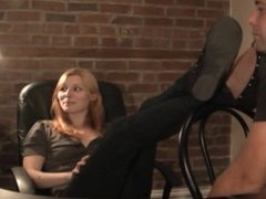 Christy Discovers Foot Fetish - www.c4s.com/8983