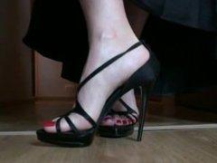 1 Tanya in high heels