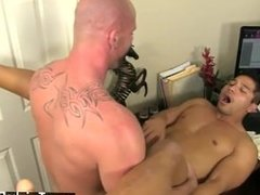 Gay guy sucking his After face plowing and slurping his ass, Mitch bangs