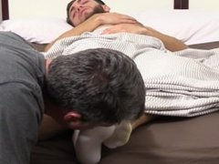 Sleepy Silas' Socks and Feet Worshiped
