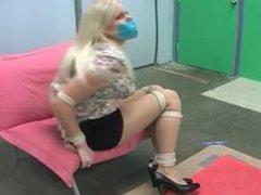 tape gagged blonde
