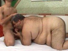 Gordo grasa y su hijo