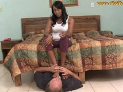 Black Girl Footworship