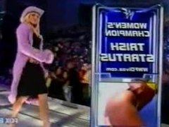 Stacy Keibler vs Trish Stratus Gravy Bowl Match