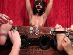Tickle Internsive - Maximum Punishment Sahrye gagged and tickled in jeans