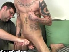Gay slim boys He strokes that shaft as Koz reaches up to paw and clamp